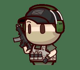 Tactical 6 sticker #834559