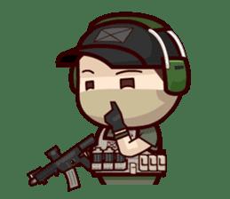 Tactical 6 sticker #834560