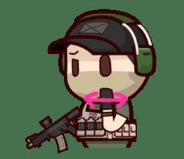 Tactical 6 sticker #834563