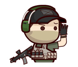 Tactical 6 sticker #834565