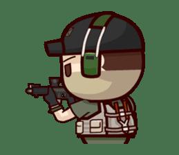 Tactical 6 sticker #834569