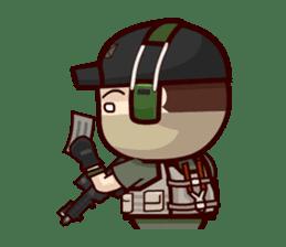 Tactical 6 sticker #834574