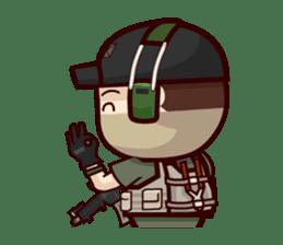 Tactical 6 sticker #834575