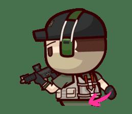 Tactical 6 sticker #834576