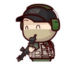 Tactical 6 sticker #834577