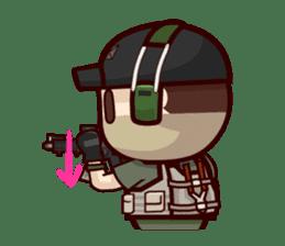 Tactical 6 sticker #834579