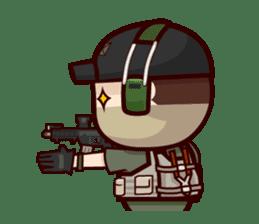 Tactical 6 sticker #834580