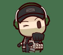 Tactical 6 sticker #834584
