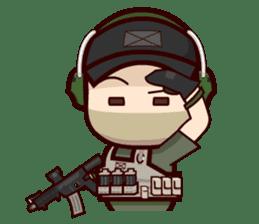 Tactical 6 sticker #834585