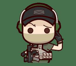 Tactical 6 sticker #834587
