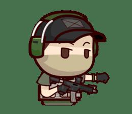 Tactical 6 sticker #834588