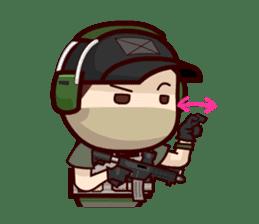 Tactical 6 sticker #834590
