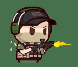 Tactical 6 sticker #834592