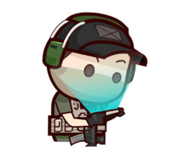 Tactical 6 sticker #834597