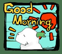green little puppy sticker #835319