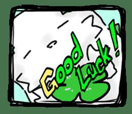 green little puppy sticker #835322