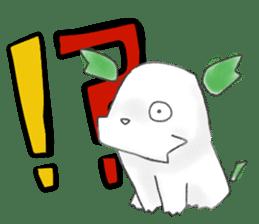 green little puppy sticker #835324
