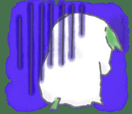 green little puppy sticker #835328