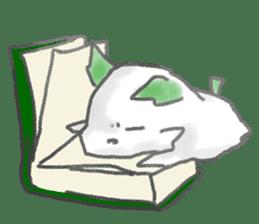 green little puppy sticker #835347