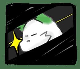 green little puppy sticker #835349