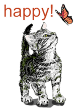 Just cats! sticker #835799