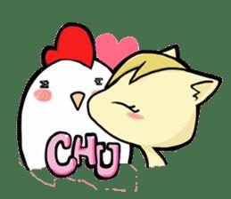 ChicKNUP Punk Life sticker #836087
