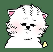 UZA KAWAII Cat Stamp sticker #836323