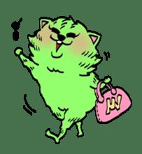 UZA KAWAII Cat Stamp sticker #836330