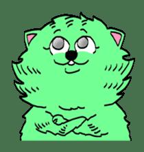 UZA KAWAII Cat Stamp sticker #836347