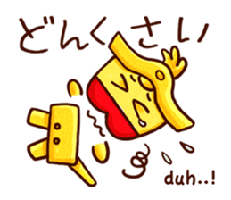 Osaka Sensyu-dialect Danjiri Stamp sticker #836563