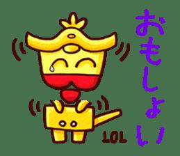 Osaka Sensyu-dialect Danjiri Stamp sticker #836567
