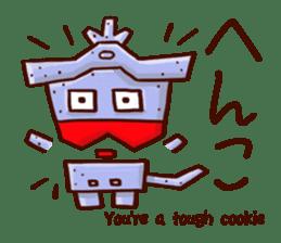 Osaka Sensyu-dialect Danjiri Stamp sticker #836569