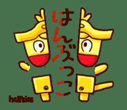Osaka Sensyu-dialect Danjiri Stamp sticker #836572