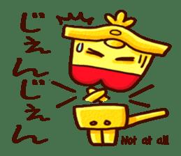Osaka Sensyu-dialect Danjiri Stamp sticker #836573