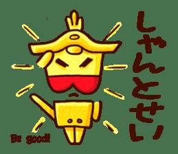 Osaka Sensyu-dialect Danjiri Stamp sticker #836580
