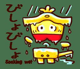 Osaka Sensyu-dialect Danjiri Stamp sticker #836594
