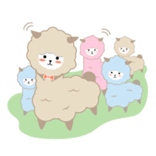 Alpaca The Series sticker #836679