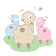 Alpaca The Series sticker #836683