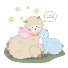 Alpaca The Series sticker #836686