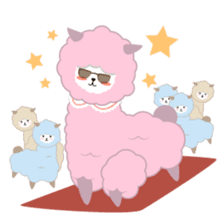 Alpaca The Series sticker #836692