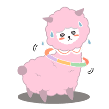 Alpaca The Series sticker #836696