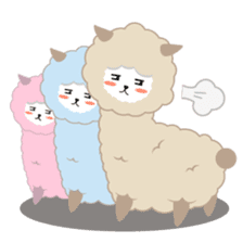 Alpaca The Series sticker #836714