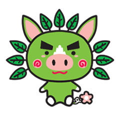 Greboo  -PR mascot for Kagoshima, Japan-