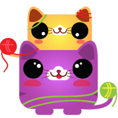 Kitty , cutest kitten sticker pack