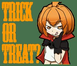Trick or Treat! KAWAII-HALLOWEEN sticker #837680