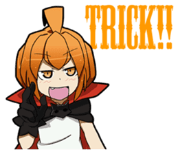 Trick or Treat! KAWAII-HALLOWEEN sticker #837681