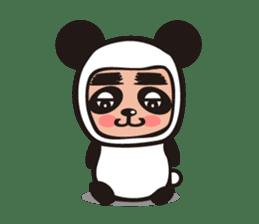 costume boy sticker #838431