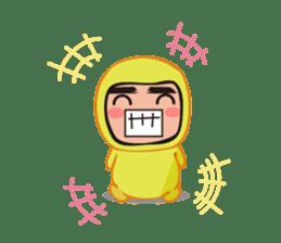 costume boy sticker #838438