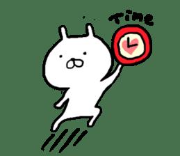 Pretty rabbit sticker #841160