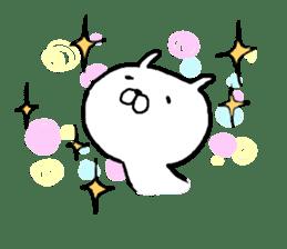Pretty rabbit sticker #841181